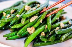 Savory Chinese Stir-Fried Green Beans Recipe