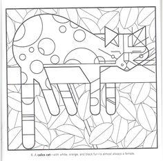 chat  C.Harper Vol.1.Album coloriage