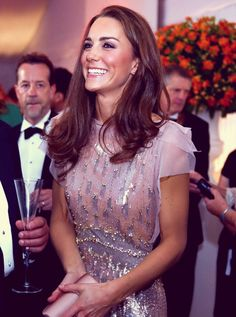 Kate Middleton....lovely smile!  The Duchess has many wonderful qualities; her vibrant and real smiles are among her strongest atrtibutes!!