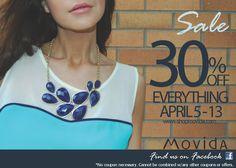 30% off at Movida AT the Station <3 we heart great sales ;)