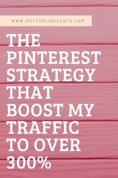 Here you will learn the best tip to increase your blog traffic quickly. Discover the Pinterest Traffic Avalanche method and use this strategy to harnest pinterest search engine traffic and start making more money. I will show you how to get more traffic with this amazing strategy that will explode your blog into a successful blog. #PinterestTraffic #Avalanche #Tips #IncreaseTraffic #BlogTraffic #Money #Strategy #SearchEngine #SEO #Pinterest #BusinessMarketing