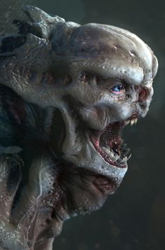 The Creature from the Black Lagoon by Nick Pill | Creatures | 3D | CGSociety