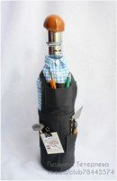 Fotky Narjadnajy Butylky Wine Bottle Covers, Wine Bottle Art, Diy Bottle, Wine Bottle Crafts, Bottles And Jars, Glass Bottles, Recycled Crafts, Diy And Crafts, Blue Nose Friends