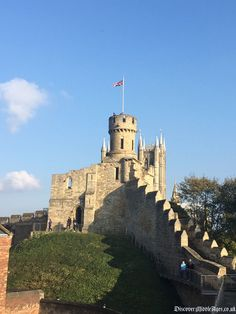 Discover Lincoln Castle, the Roman Fort upgraded to a double-motte Norman stronghold.  #medieval #castle #roman #saxon #norman #lincoln  http://www.discovermiddleages.co.uk/lincoln-castle/
