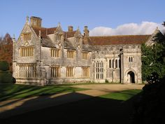 Athelhampton Hall in Dorset, England, and said to be the most haunted house in that county.  There are several ghosts.  http://www.darkdorset.co.uk/hauntings_at_athelhampton_hall