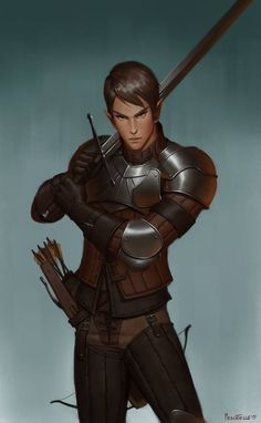 M Elf/half elf fighter