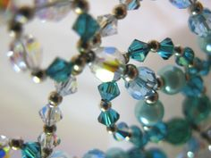 Tiara Princess Turquoise Buy Dance tiaras, Swarovski crystal beaded headpieces for ballet dancers