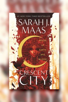 A #1 New York Times bestseller! Sarah J. Maas's brand-new CRESCENT CITY series begins with House of Earth and Blood: the story of half-Fae and half-human Bryce Quinlan as she seeks revenge in a contemporary fantasy world of magic, danger, and searing romance. New Fantasy, Fantasy Series, Fantasy Books, Fantasy Romance, Sarah Maas, Sarah J Maas Books, Love Book, Book 1, Mythos Academy