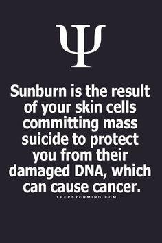 THIS IS WHY WE WEAR SUNBLOCK!