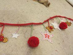4/4 two metre Christmas garland