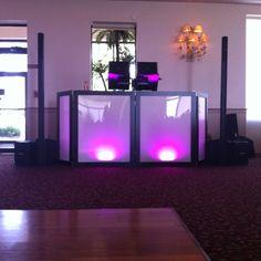 Bronze Package (700 Watt, 2 speaker BOSE sound system), optional BOSE Subwoofer, optional LED DJ booth