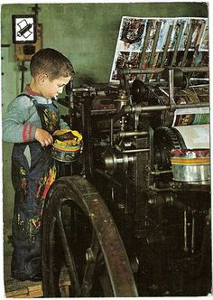 Printing Press. Was this Miguel's dream??