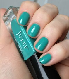 "*Julep's ""Brandis""   Swatched on stick only"