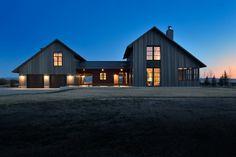 Camas Prairie House - farmhouse - Exterior - Boise - Koch Architects, Inc. Joanne Koch