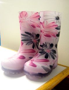 The Bay - Baby girls rain boots #burlingtonmall