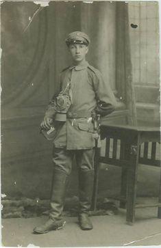Willi Ermann of Saarbrucken a German Jewish soldier in World War I. Ermann was murdered at Auschwitz in the Holocaust.