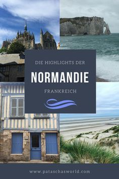 Die Normandie – mehr als nur historische Kriegsschauplätze Normandy has much more to offer than just historical sites of war … Europe Destinations, Places In Europe, Holiday Destinations, Places To Travel, Places To Go, France Travel, Asia Travel, Les Continents, Travel Tags