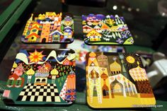 I love the art work from It's a Small World.