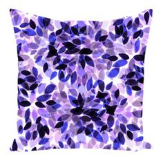 Floral Pattern Watercolor - Trend Topic For You 2020 Throw Pillow Covers, Throw Pillows, Purple Pillows, Creation Art, Purple Art, Watercolor Pattern, Dorm Decorations, Modern Decor, Decorative Pillows