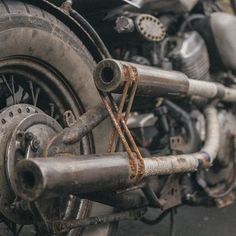 Pipes | Bobber Inspiration - Bobbers and Custom Motorcycles October 2014