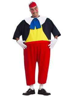 Halloween Adult Tweedle Dee Costume