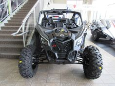 "New 2017 Can-Am Maverick X3 X Ds Turbo R ATVs For Sale in California. <p style=""margin-bottom: 1em;"">The X3 X ds Turbo R is all about control, with fully-adjustable FOX 2.5 Podium RC2 HPG Piggyback shocks, with front and rear dual-speed compression and rebound settings for unparalleled flexibility on any terrain, with any driving style.</p>"