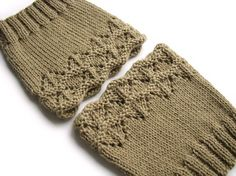 Hand Knitted Openwork Boot Cuffs  Boot Toppers Leg by milleta on Etsy /www.etsy.com/shop/milleta