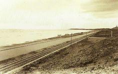 D.Antonio Ferrer Monera...La carretera de la Playa de San Juan, en los años 40