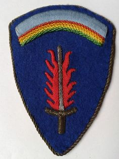 POST WWII GERMAN BULLION US ARMY EUROPE USAREUR PATCH (W426)