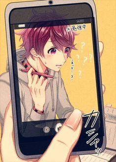 Anime Boys, Manga Anime, Japanese Games, Animation, Anime Life, Anime Artwork, Cute Images, Beautiful Boys, Anime Couples