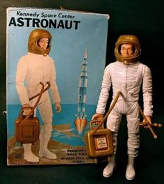 Image result for vintage astronaut