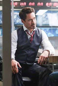 "Robert Downey Jr. as Tony Stark, ""Captain America: Civil War"" 2016"