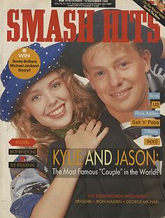 Kylie and Jason, Smash Hits 1988 - las ik in de bieb op school