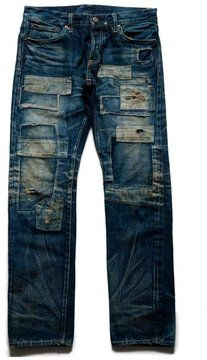 Japanese crafty denim