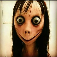Creepy Face Meme, Creepy Faces, Halloween Cosplay, Halloween Masks, Scary Halloween, Villain Mask, Cartoon Monsters, Japanese Folklore, Scary Mask