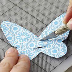 Schmetterling-Deko für Gläser selber machen - schmetterling-deko-4