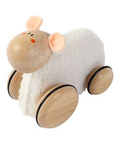 $23. Loving this Little Lamb Pull-Along Toy on #zulily! #zulilyfinds