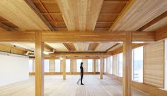 Pritzker Prize-winning architect Shigeru Ban's first Canadian project, set to rise in Vancouver, will be the world's tallest timber tower.