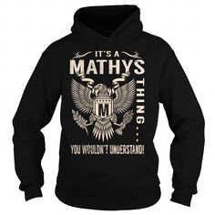 I Love Its a MATHYS Thing You Wouldnt Understand - Last Name, Surname T-Shirt (Eagle) Shirts & Tees