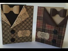 Father's Day Card Tutorial!