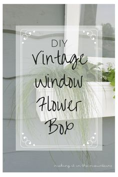 DIY Vintage Window F