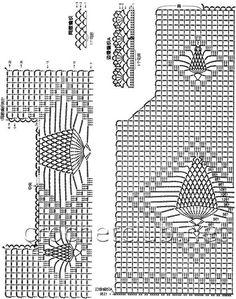 Crochet tesoro: Filethäkelmuster