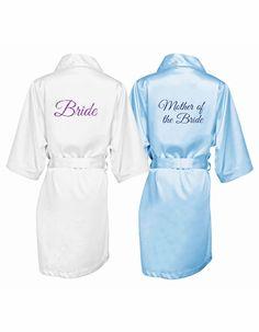 Glitter Bride Robe - Bridesmaids Robes