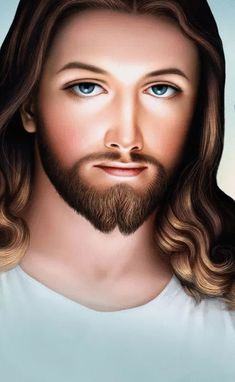 Our Lord and Savior Jesus Christ - Yeshua Pictures Of Jesus Christ, Religious Pictures, Jesus Our Savior, Jesus Is Lord, Divine Mercy Image, Jesus Christ Painting, Jesus Mother, Jesus Photo, Jesus Tattoo