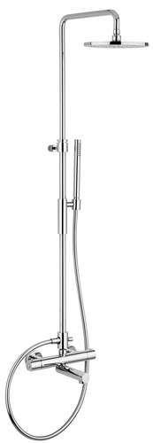 TVM2200 komplett dusj med badekartut.