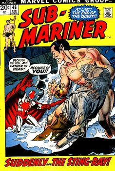Namor, without his memories and haunted by the figure of his father, is injured escaping from...