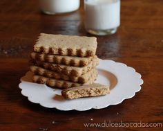 Dulces bocados: Galletas con harina de castañas