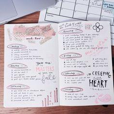 bullet journal ideas | aesthetic | inspiration