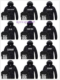 Kpop EXO Kris Chanyeol Varsity Jacket Unisex 2EN1 Dara ZICO Outwear