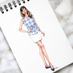Style of Brush by Gizem Kazancıgil gizem kazancigil Dress Design Drawing, Dress Design Sketches, Fashion Design Sketchbook, Fashion Design Drawings, Dress Drawing, Fashion Sketches, Fashion Drawing Dresses, Fashion Illustration Dresses, Dress Illustration